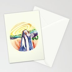 the listener Stationery Cards