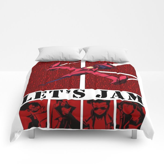 Cowboy Bebop Logo Comforters