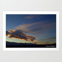 The Amazing Sky Art Print