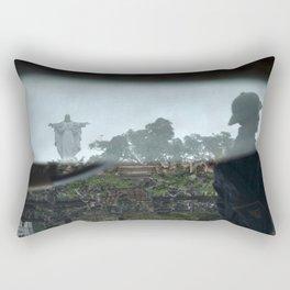 Jesus Reflected. Phat Diem, Vietnam. Rectangular Pillow
