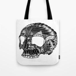 Skull - I Tote Bag