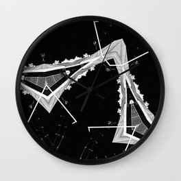 Mtn Xray Wall Clock