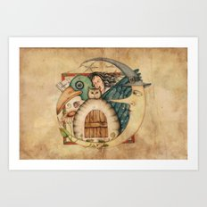 The dream Art Print