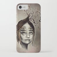 copper iPhone & iPod Cases featuring Copper by Lisa Lan
