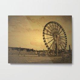 Ferris Wheel, Paris Metal Print