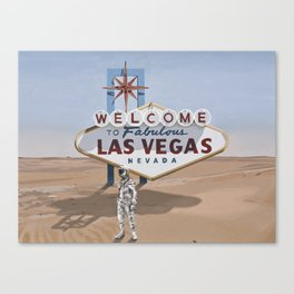 Leaving Las Vegas Canvas Print