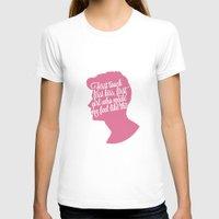 zayn malik T-shirts featuring Zayn Malik Silhouette  by Holly Ent