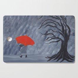 Orange Umbrella Cutting Board