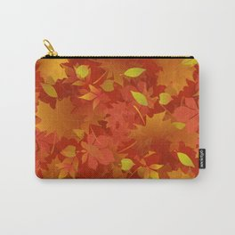 Autumn Leaves Carpet Carry-All Pouch