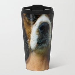 DogWoman #society6 #decor #buyart #artprint Travel Mug