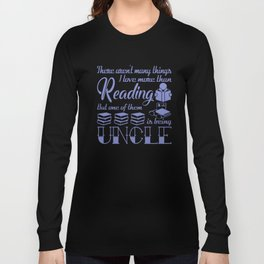 Reading Uncle Long Sleeve T-shirt