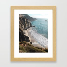 Coast of Big Sur Framed Art Print