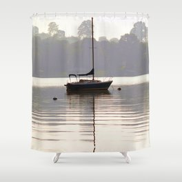 At Rest in Calm Waters- Photographic Collection Shower Curtain
