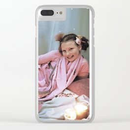 North of Bedford Drive Clear iPhone Case