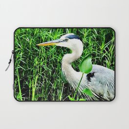 Heron On The Trails Laptop Sleeve