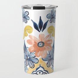 Talavera Flowers Travel Mug