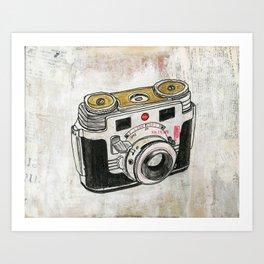 Kodak Signet 35 Art Print
