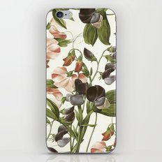 Flowers illustration iPhone Skin