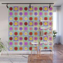 Gerbera Daisies Bright Color Design Wall Mural