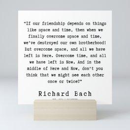 27  | Richard Bach Quotes | 190916 Mini Art Print