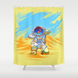 Adventure Goes Wrong Shower Curtain