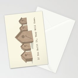 If You Built It, They Will Come. Stationery Cards