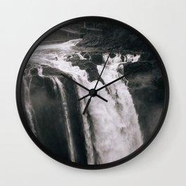 Go Chasing Waterfalls Wall Clock