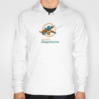 nfl Hoodies featuring Miami Degobans - NFL by Steven Klock