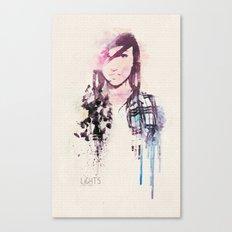 Poxleitner LiGHTS ver.2 Canvas Print
