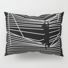 Cats and Curtains Pillow Sham