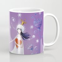 russian Mugs featuring russian winters by mila marquis