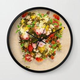Flourishing Bliss Wall Clock