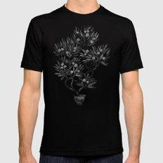 Bonsai Fruit Tree – Black Palette Mens Fitted Tee Black LARGE