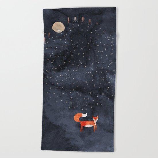 Fox Dream Beach Towel