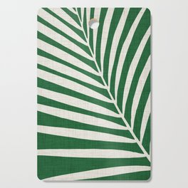 Minimalist Palm Leaf Cutting Board