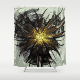Idealism of Pain Shower Curtain