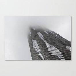 Foggy Chicago Morning 007 Canvas Print