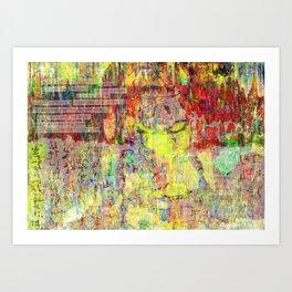 Infiltration III Art Print