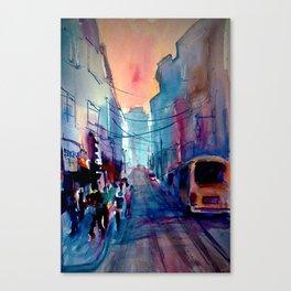 New York City Street Corner Canvas Print