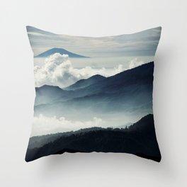 BLUE SKIES - 260618/2 Throw Pillow