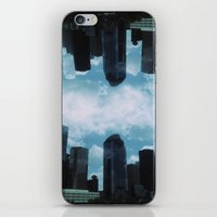 houston iPhone & iPod Skins featuring Houston, by LUCJPG