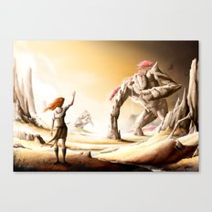 The Titan - Walking Forest Canvas Print