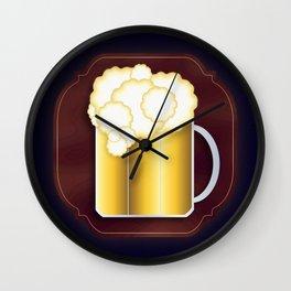 Mug of Beer, I Mean Cheer Wall Clock
