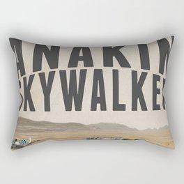 Podracing with Anakin Skywalker Rectangular Pillow