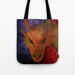 Dragon in the Misty Mountain Tote Bag