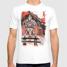 Sea of Red: Judgement Mens Fitted Tee White MEDIUM