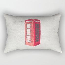 Oxford Phone Booth Rectangular Pillow