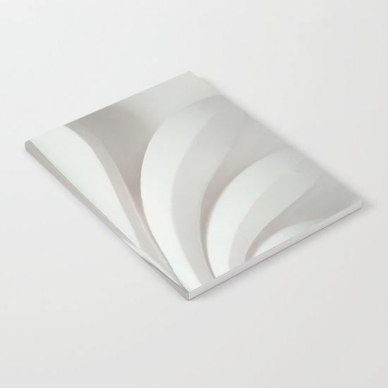 White sculpture Notebook