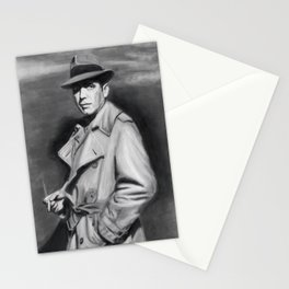Classic Humphrey Black & White Drawing Stationery Cards