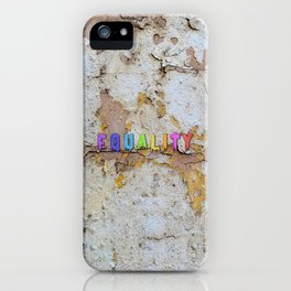 Equality Paint iPhone Case
